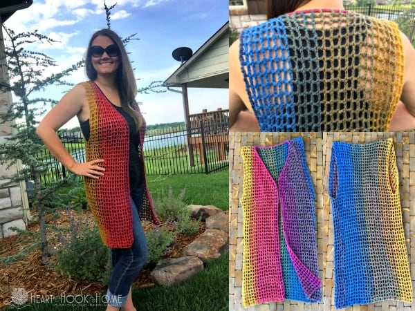 Lightweight Summer Vest Crochet Pattern Free
