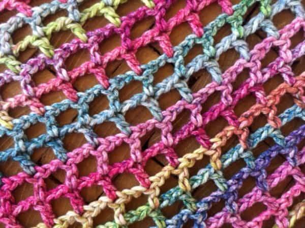 Lightweight Vest Crochet Pattern Fabric