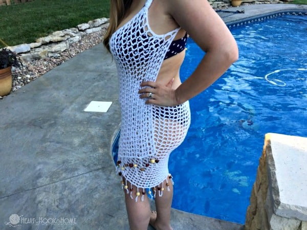 Swimsuit Cover Up Crochet Pattern Wrap