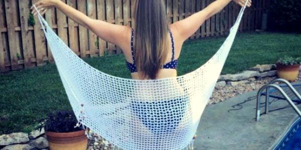 It's a Wrap! Swimsuit Cover Up Crochet Pattern