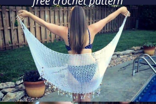It's a Wrap! Swimsuit Cover Up Crochet Pattern