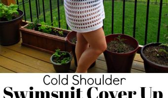 Cold Shoulder Swimsuit Cover Up Crochet Pattern
