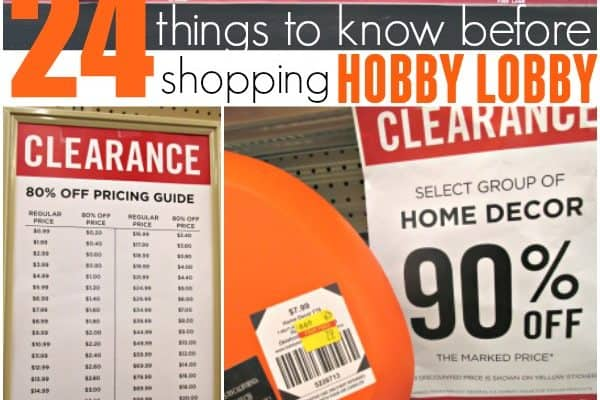 24 Hobby Lobby Savings Hacks You Need to Know