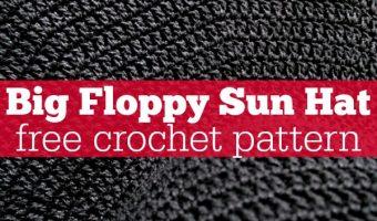 Floppy Sun Hat Free Crochet Pattern