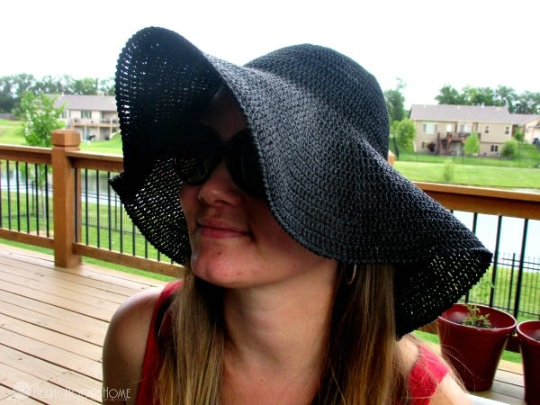 Floppy Sun Hat Crochet Pattern