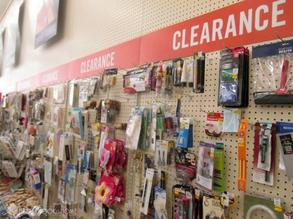 Hobby Lobby Clearance Section