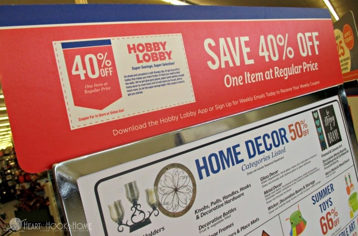 Hobby lobby coupons mobile