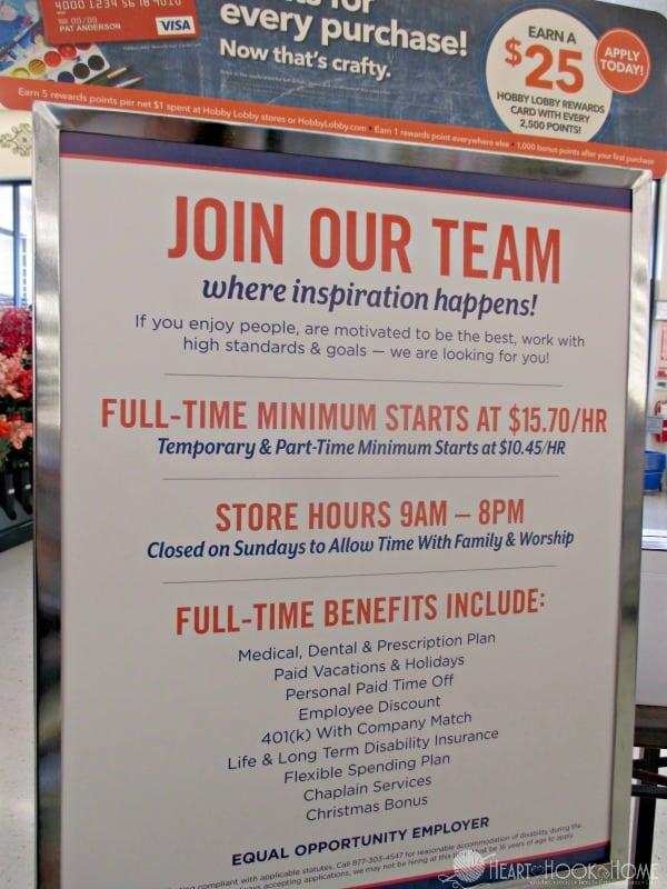 Hobby Lobby Employment Benefits