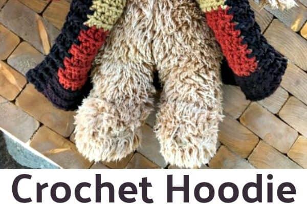 Infant Hoodie Crochet Pattern (size 6 months)