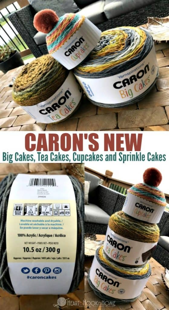 Caron's NEW Caron Big Cakes, Sprinkle Cakes, Cupcakes and Tea Cakes