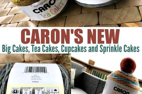 Caron Cupcakes, Caron Tea Cakes, Caron Big Cakes and Caron Sprinkle Cakes