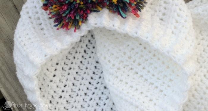 Hoodie crochet pattern for children