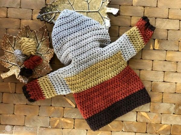 Infant Hoodie Crochet Pattern