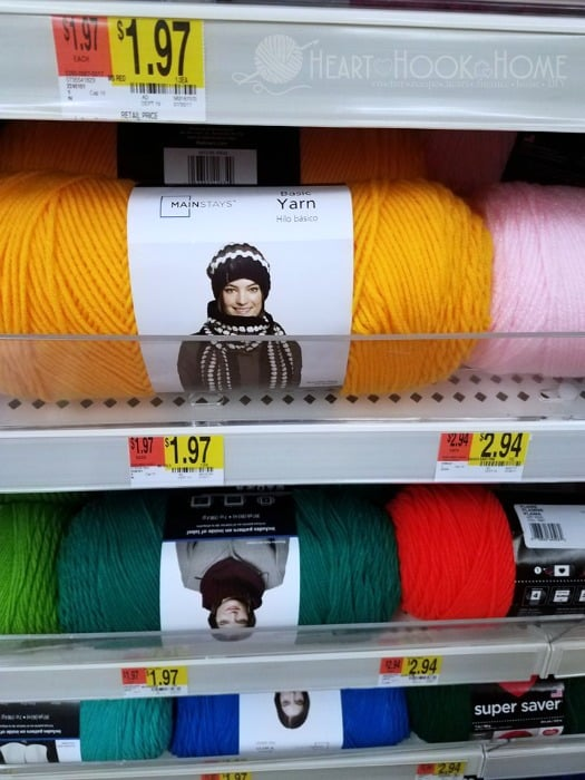 A Review Of Walmarts New Mainstays Yarn Brand