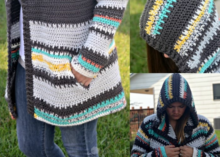 429b914156e4 Painted Canyon Hooded Cardigan Crochet Pattern