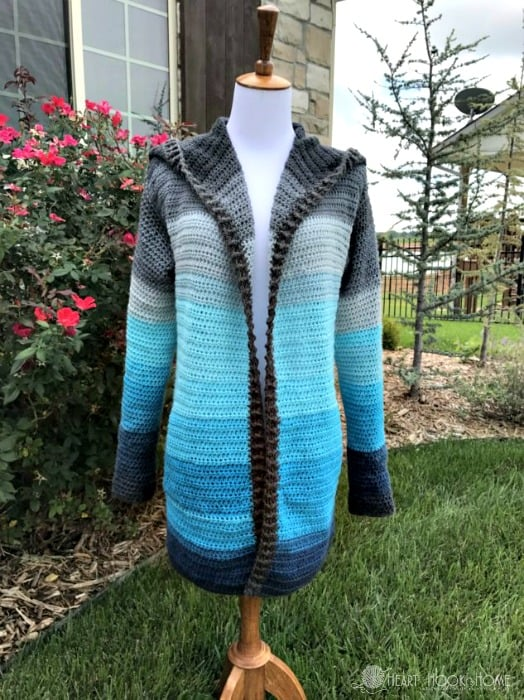 Painted Canyon Cardigan in Mandala Spirit with Pockets