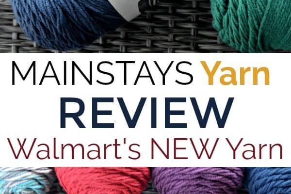Review of Walmart's new Mainstays Yarn