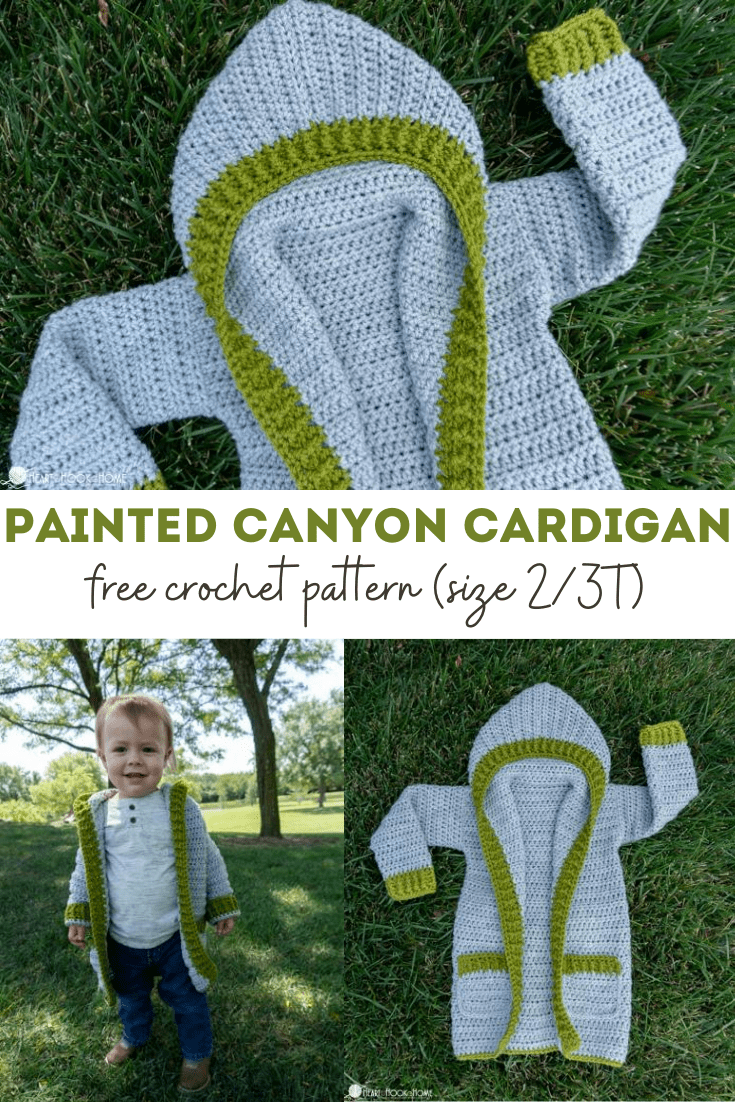 Toddler Painted Canyon Cardigan