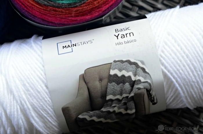 Walmart's NEW Mainstays Yarn Line