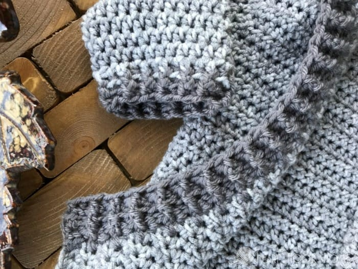 12 Month Crochet Hoodie Pattern