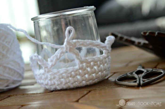 Houseplant hanger crochet pattern