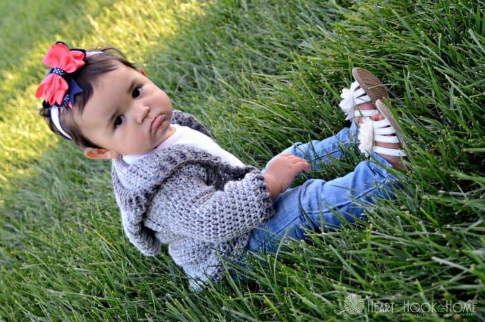 Infant size crochet pattern for hoodie free pattern