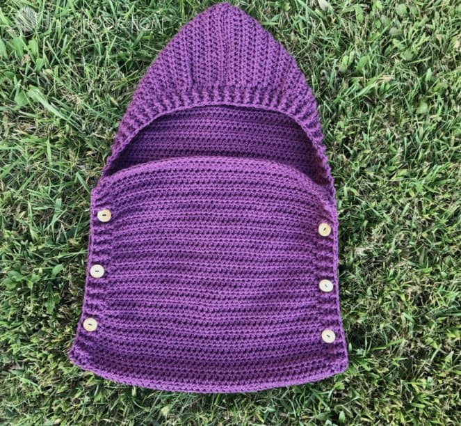 sleep sack for preemies, free crochet pattern
