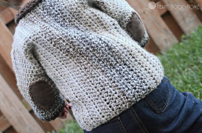 1 year old cardigan crochet pattern