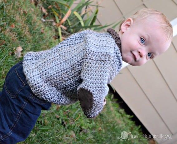 12 month cardigan pattern
