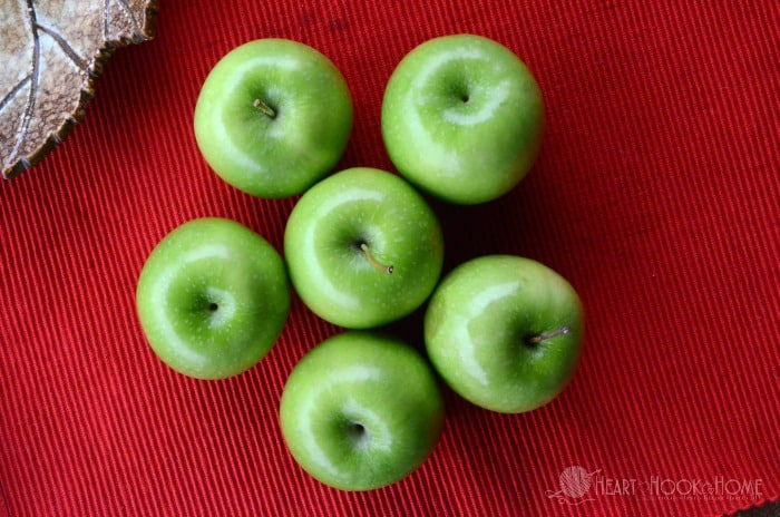 Apples for apple crumble