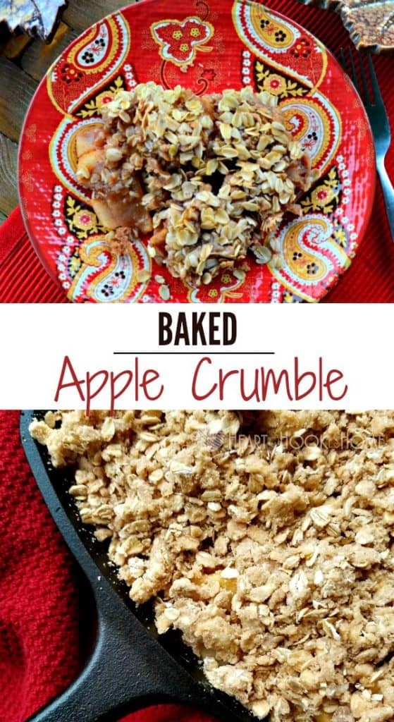 Baked Apple Crumble Recipe