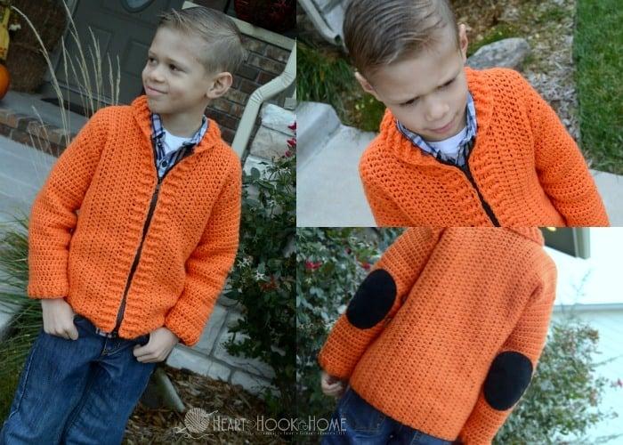 Cameron's Cardigan pattern facebook
