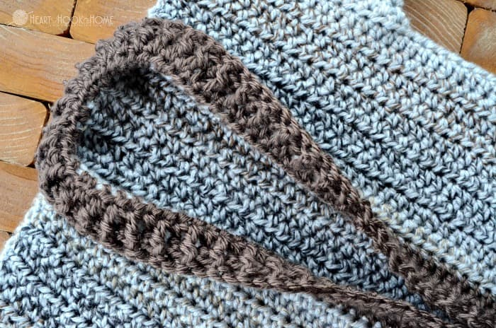 Cozy coed cardigan crochet pattern