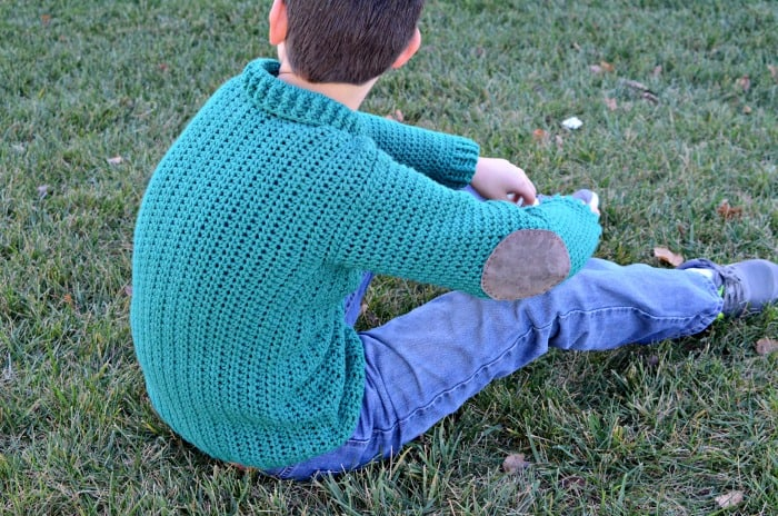 Size 10 12 youth cardigan crochet pattern