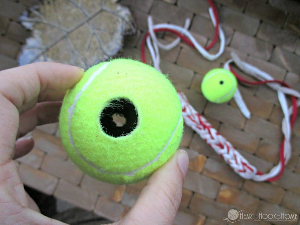 Free dog toy crochet pattern
