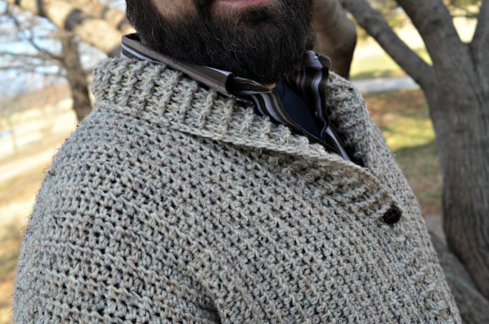 Cozy Coed Cardigan Crochet pattern