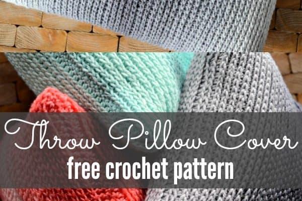 crochet throw pillow Archives Heart Hook Home