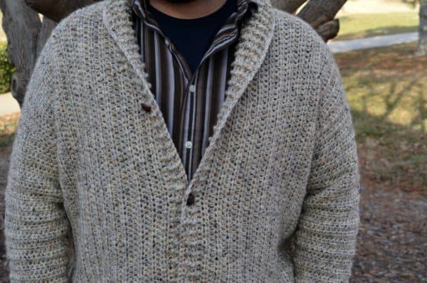 Cozy Coed Cardigan Crochet pattern for women