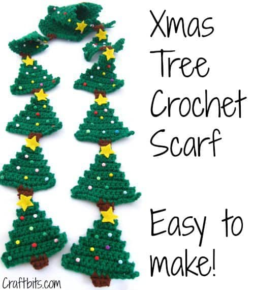 8 Free Christmas Scarf Crochet Patterns