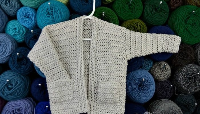 Crocheting the Hedonist's Housecoat - free crochet pattern