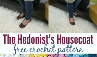 The Hedonist's Housecoat: Free Crochet Housecoat Pattern