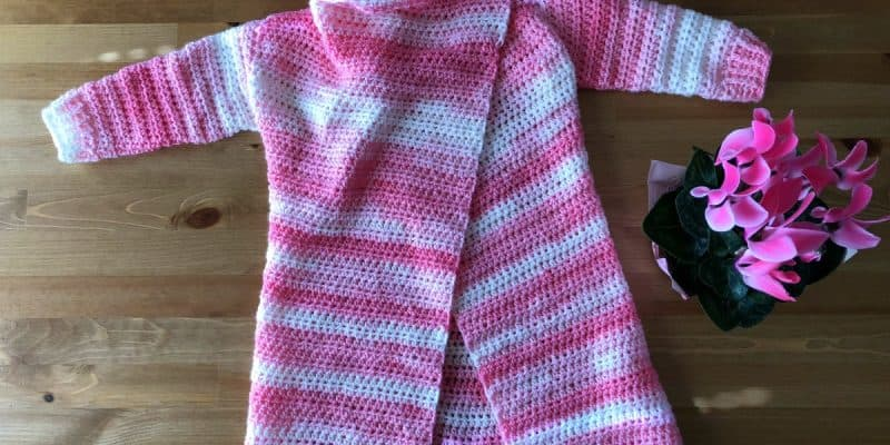 Blanket Cardigan for Kids Size 23T