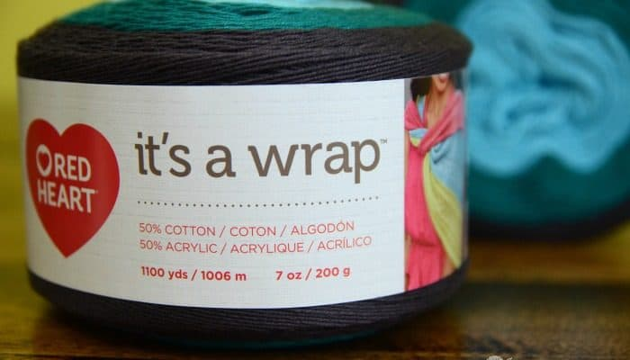 It's a Wrap yarn review