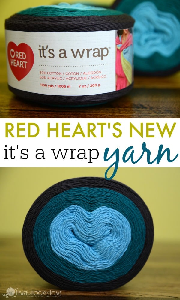 Red Hearts New Its A Wrap Yarn Review