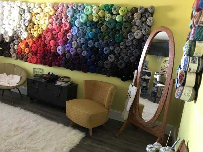 Amazing Yarn Wall