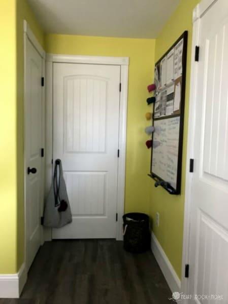 hallway yarn room