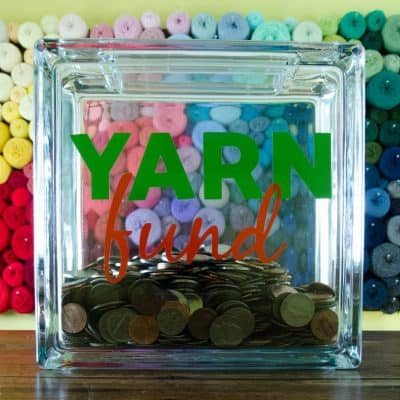 DIY Yarn Fund Piggy Bank Tutorial (+ free SVG file)