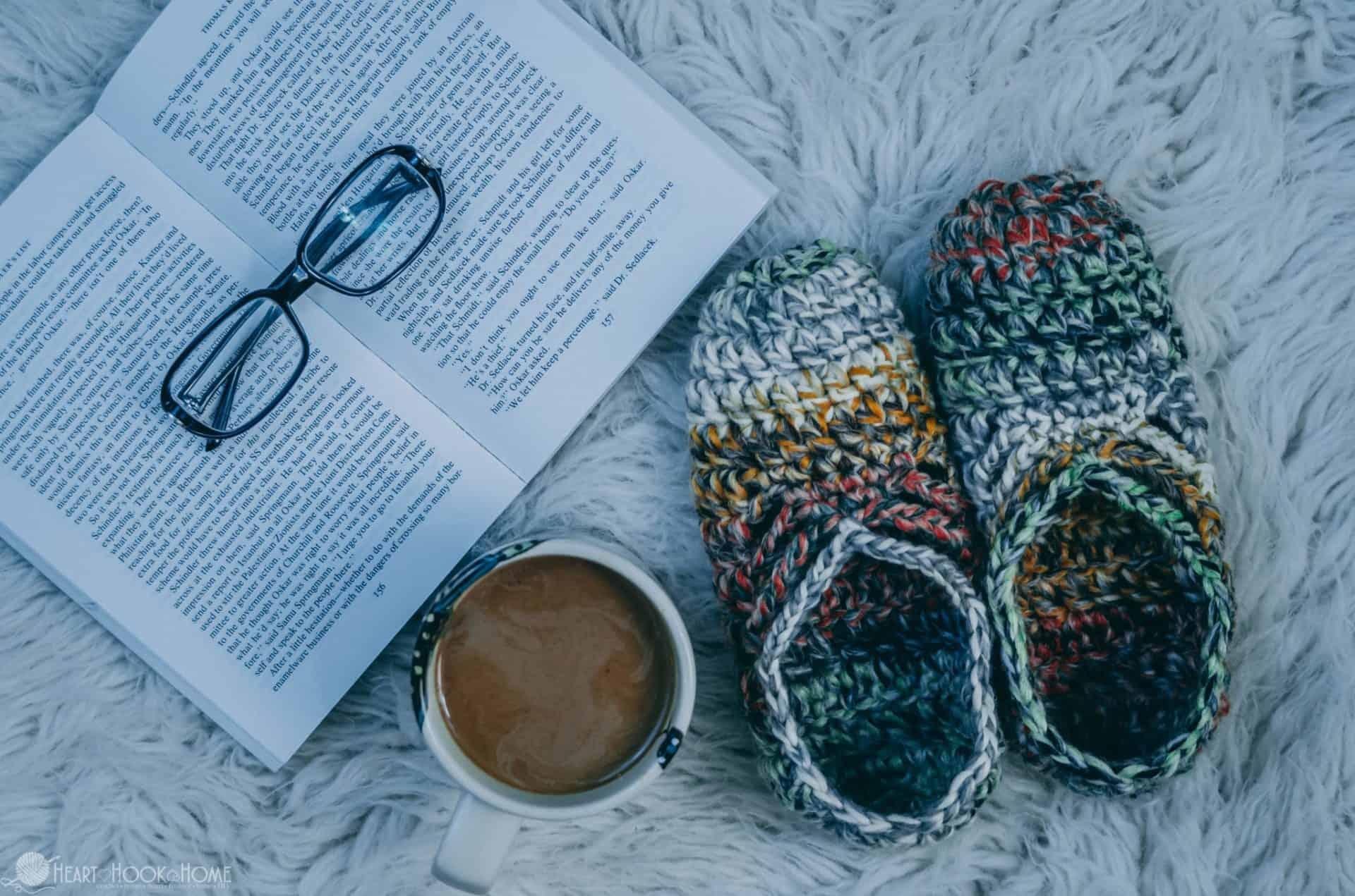 Chunky Ballet Slippers Crochet Pattern Kids Included