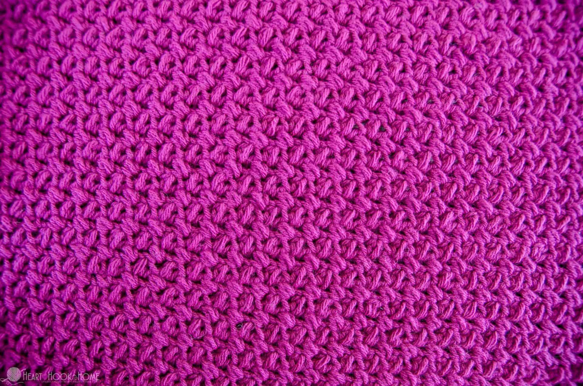 How to crochet the Elizabeth Stitch