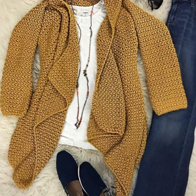 The Elizabeth Cardigan – Crochet Along (CAL) – Free Crochet Pattern